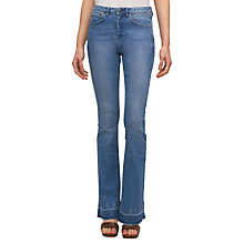 Buy Jigsaw Santa Monica Jeans, Mid Blue Online at johnlewis.com