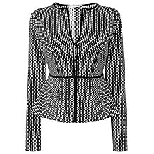 Buy L.K. Bennett Nieve Cardigan, Black Online at johnlewis.com