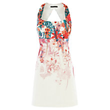 Buy Karen Millen Flower Scuba Dress, Multi Online at johnlewis.com