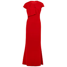 Buy Gina Bacconi Stretch Moss Crepe Dress, Red Online at johnlewis.com