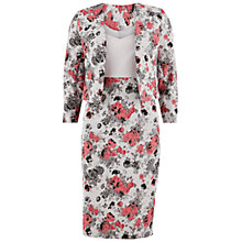 Buy Gina Bacconi Jacquard And Crepe Dress And Jacket, Grey Online at johnlewis.com