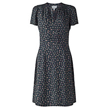 Buy Jigsaw Primrose Ditsy Tea Dress, Navy Online at johnlewis.com