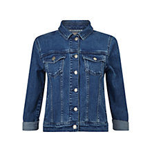 Buy East Denim Jacket, Indigo Online at johnlewis.com