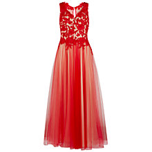 Buy Gina Bacconi Lace And Mesh Maxi Dress Online at johnlewis.com