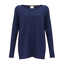 Buy East Seam Detail Jumper, Navy Online at johnlewis.com