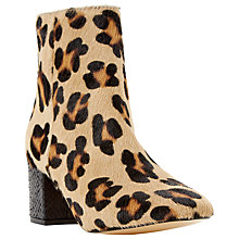 Buy Dune Pebble Block Heeled Ankle Boots Online at johnlewis.com