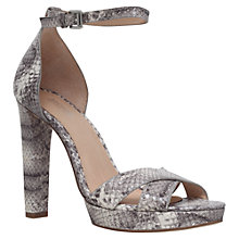 Buy MICHAEL Michael Kors Divia Block Heeled Sandals Online at johnlewis.com