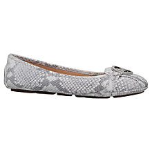 Buy MICHAEL Michael Kors Fulton Moc Flat Pumps Online at johnlewis.com