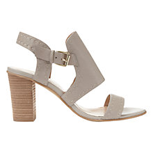 Buy Mint Velvet Mandy Block Heeled Sandals, Grey Online at johnlewis.com