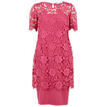 Buy Gina Bacconi Half-Sleeve Overtop Dress, Pink Online at johnlewis.com