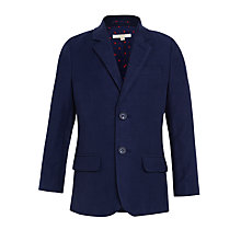 Buy John Lewis Heirloom Collection Boys' Moleskin Jacket, Navy Online at johnlewis.com