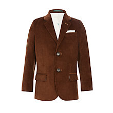 Buy John Lewis Heirloom Collection Boys' Corduroy Jacket, Rust Online at johnlewis.com