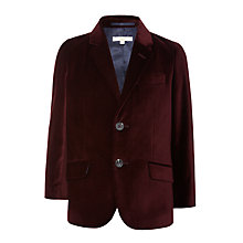Buy John Lewis Heirloom Collection Boys' Velvet Jacket Online at johnlewis.com
