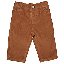 Buy John Lewis Baby Woven Corduroy Trousers Online at johnlewis.com