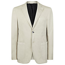 Buy Aquascutum Aldershot Slim Fit Blazer, Beige Online at johnlewis.com