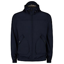 Buy Aquascutum Beacon Hooded Jacket, Navy Online at johnlewis.com