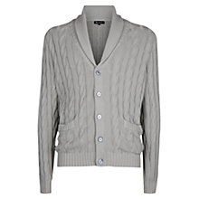 Buy Aquascutum Oakham Cable Knit Cardigan Online at johnlewis.com
