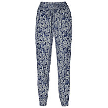 Buy Fat Face Coin Print Trousers, Navy Online at johnlewis.com