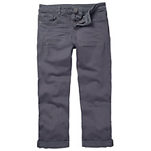 Buy Fat Face Garment Dye Capri Trousers, Lavender Online at johnlewis.com