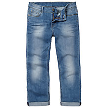 Buy Fat Face Denim Capris, Retro Blue Online at johnlewis.com
