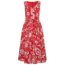 Buy Phase Eight Penelope Dress, Red/White Online at johnlewis.com