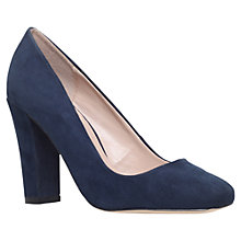 Buy Carvela Klip Block Heeled Court Shoes Online at johnlewis.com