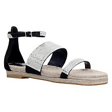 Buy Carvela Kacie Embellished Sandals, Black Online at johnlewis.com