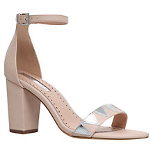 Buy Miss KG Faye Block Heeled Sandals, Nude Online at johnlewis.com