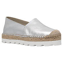 Buy Carvela Lido Leather Platform Espadrilles Online at johnlewis.com