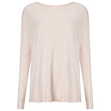 Buy Phase Eight Dahna Fine Knit Jumper, Soft Pink Online at johnlewis.com