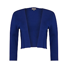 Buy Phase Eight Salma Knit Jacket, Bondi Blue Online at johnlewis.com