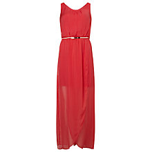Buy Phase Eight Elsa Silk Maxi Dress, Popsicle Online at johnlewis.com