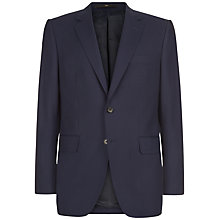 Buy Jaeger Travel Wool Jacket, Navy Online at johnlewis.com