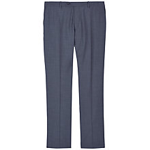 Buy Jaeger Wool Mohair Modern Fit Suit Trousers, Chambray Online at johnlewis.com