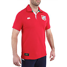 Buy Canterbury of New Zealand British Lions Rugby Polo Shirt, Red Online at johnlewis.com