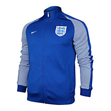Buy Nike N98 England Football Zip Up Track Jacket, White Online at johnlewis.com