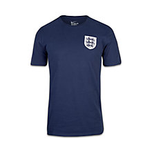 Buy Nike England Football Team Squad T-Shirt, Midnight Navy Online at johnlewis.com