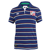 Buy Canterbury of New Zealand British Lions Rugby Polo Shirt, Blue Online at johnlewis.com