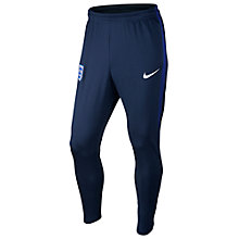 Buy Nike England Strike Football Trousers, Midnight Navy Online at johnlewis.com