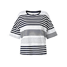 Buy Kin by John Lewis Stripe T-Shirt, Navy/White Online at johnlewis.com