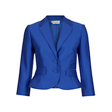Buy Hobbs Henriette Jacket, Bluebell Online at johnlewis.com