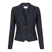 Buy Hobbs Arianne Jacket, Navy Online at johnlewis.com