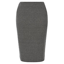 Buy Hobbs Lillian Skirt, Black/White Online at johnlewis.com