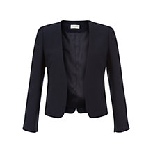 Buy Hobbs Alwena Jacket, Navy Online at johnlewis.com