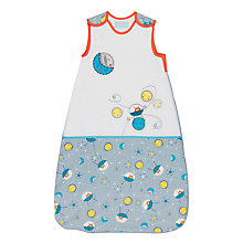 Buy Grobag To The Moon Sleep Bag, 2.5 Togs, White/Multi Online at johnlewis.com