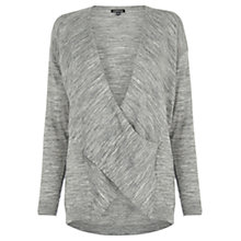 Buy Warehouse Twist Drape Tunic Online at johnlewis.com