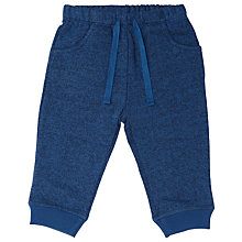 Buy John Lewis Baby Jersey Joggers, Blue Online at johnlewis.com