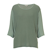 Buy Betty & Co. Three Quarter Sleeve Knit Top, Spa Green Online at johnlewis.com