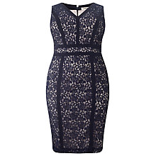 Buy Studio 8 Antoinette Lace Dress, Navy Online at johnlewis.com