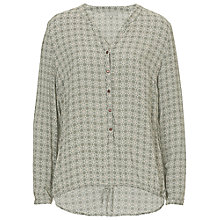 Buy Betty & Co. Graphic Print Blouse, Reed/Nature Online at johnlewis.com